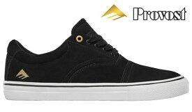 【Emerica】PROVIDER Collin Provost Signature Model カラー:black/white/gold エメリカ プロヴァイダー スケートボード スケボー SKATEBOARD シューズ 靴 スニーカー