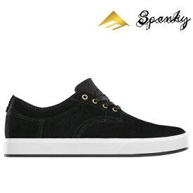 【Emerica】SPANKY G6 Kevin SPANKY Long Signature Model カラー:black/white エメリカ スパンキー スケートボード スケボー SKATEBOARD シューズ 靴 スニーカー