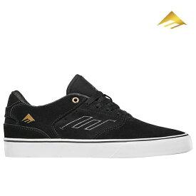 【Emerica】LOW VULC カラー:black/gold/white エメリカ スケートボード スケボー SKATEBOARD シューズ 靴 スニーカー