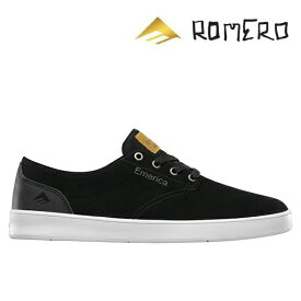 【Emerica】ROMERO LACED カラー:black/black/white エメリカ ロメロ レイスド スケートボード スケボー SKATEBOARD シューズ 靴 スニーカー