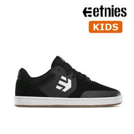 【Etnies】KIDS MARANA カラー:black/gum/white エトニーズ マラナ スケートボード スケボーシューズ 靴 スニーカー 子供 SKATEBOARD SHOES