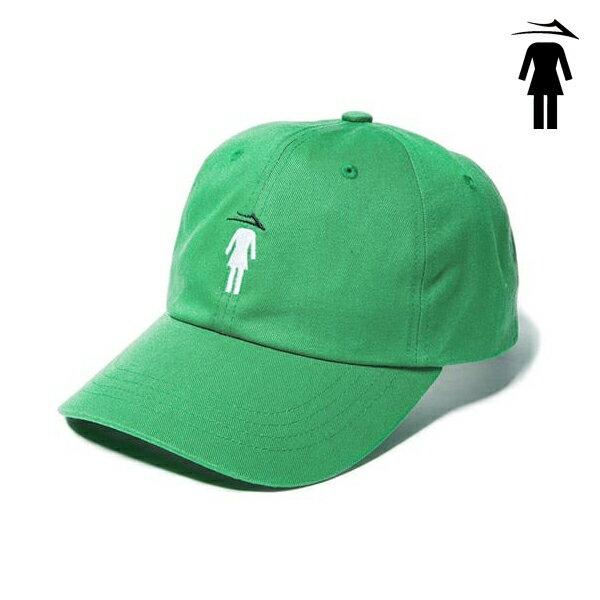 【LAKAI×GIRL】FLARE GIRL DAD HATカラー:green 【ラカイ】【ガール】【スケートボード】【帽子/キャップ】