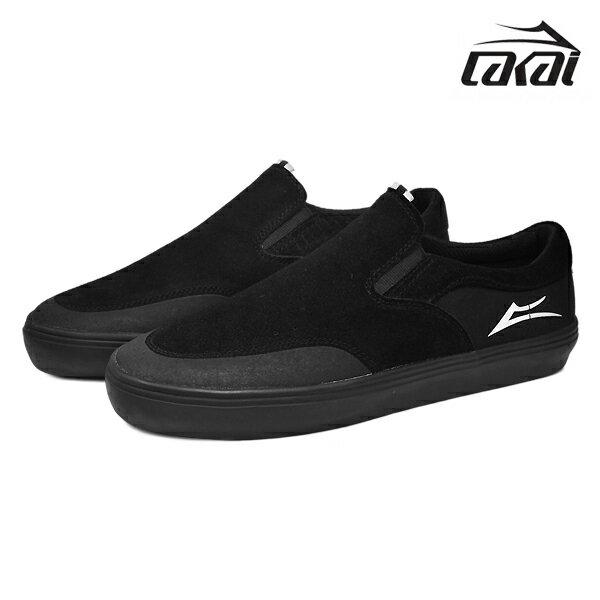 【LAKAI】OWEN カラー:black/black suede 【ラカイ】【スケートボード】【シューズ】【ラスト 1足 26.5cm】