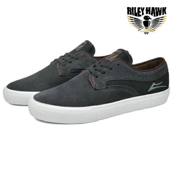 【LAKAI】RILEY HAWK カラー:gargoyle suede【ラカイ】【スケートボード】【シューズ】【ラスト 1足 27cm】