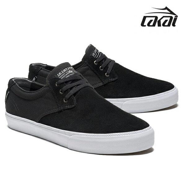 【LAKAI】DALY カラー:black suede 【ラカイ】【スケートボード】【シューズ】*
