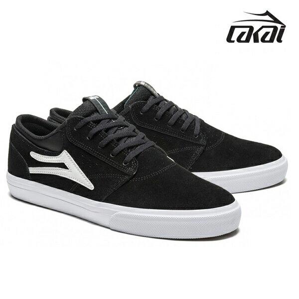 【LAKAI】GRIFFIN カラー:black/white suede 【ラカイ】【スケートボード】【シューズ】