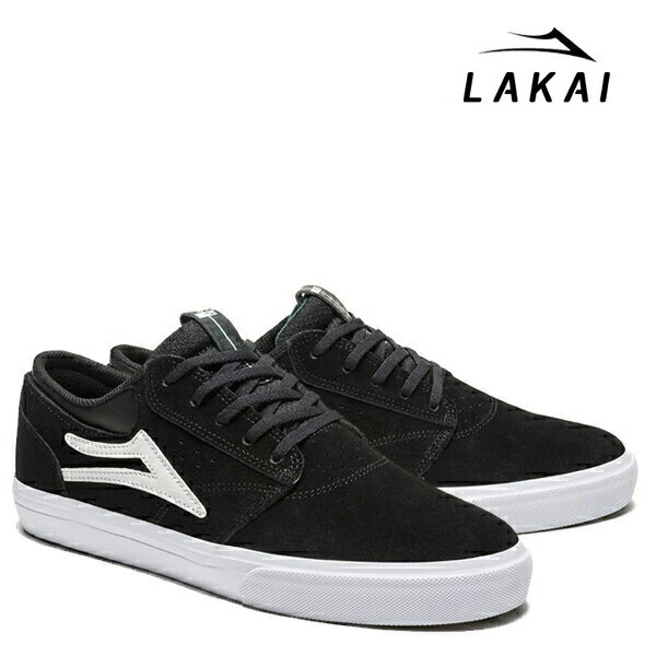 【LAKAI】GRIFFIN カラー:black suede 【ラカイ】【スケートボード】【シューズ】