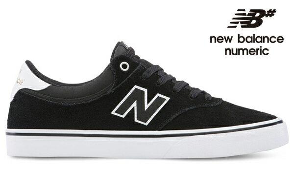 【NEW BALANCE NUMERIC】255 NM255BWHカラー:black/white 【ニューバランスヌメリック】【スケートボード】【シューズ】
