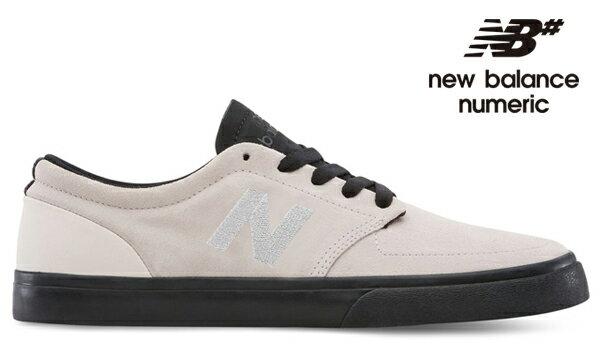 【NEW BALANCE NUMERIC】345 NM345GGBカラー:gray/black【ニューバランスヌメリック】【スケートボード】【シューズ】