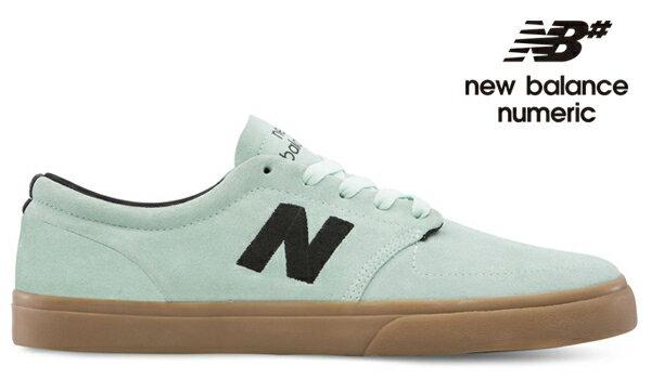 【NEW BALANCE NUMERIC】345 NM345MNGカラー:mint/gum【ニューバランスヌメリック】【スケートボード】【シューズ】