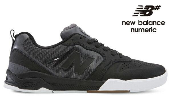 【NEW BALANCE NUMERIC】868 NM868BWH カラー:black/white【ニューバランスヌメリック】【スケートボード】【シューズ】