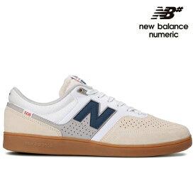 【NEW BALANCE NUMERIC】Brandon Westgate NM508WHB カラー:white ニューバランス ヌメリック スケートボード スケボーシューズ 靴 スニーカー SKATEBOARD SHOES