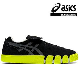 【asics skatebording】GEL-FLEXKEE カラー:black/safety yellow アシックス スケートボーディング スケートボード スケボー シューズ 靴 スニーカー SKATEBOARD SHOES