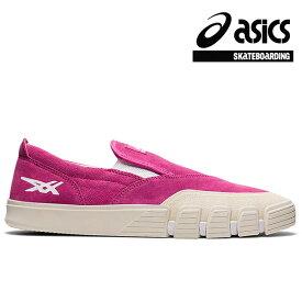 【asics skatebording】GEL-FLEXKEE SLIP-ONカラー:pinkアシックス スケートボーディングスケートボード スケボーシューズ 靴 スニーカーSKATEBOARD SHOES