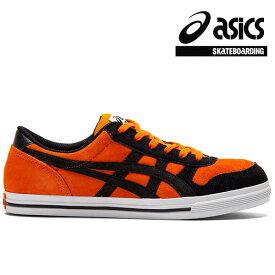 【asics skatebording】AARON PRO カラー:habanero/black アシックス スケートボーディング スケートボード スケボー シューズ 靴 スニーカー SKATEBOARD SHOES