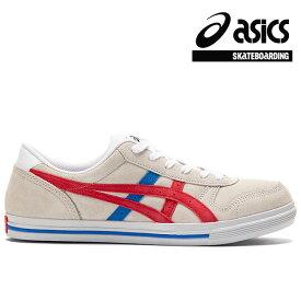 【asics skatebording】AARON PRO カラー:white/classic red アシックス スケートボーディング スケートボード スケボー シューズ 靴 スニーカー SKATEBOARD SHOES