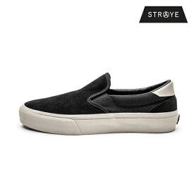 【STRAYE】VENTURA カラー:black bone suede ストレイ ベンチュラ スケートボードスケボー シューズ 靴 スニーカーSKATEBOARD SHOES