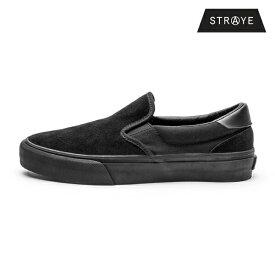 【STRAYE】VENTURA カラー:black black suede ストレイ ベンチュラ スケートボードスケボー シューズ 靴 スニーカーSKATEBOARD SHOES
