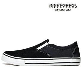 【POSSESSED】SKATE GANG カラー:black ポゼスト スリッポン スケートボード スケボーシューズ 靴 スニーカー SKATEBOARD SHOES