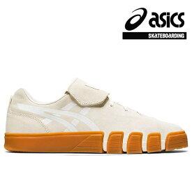 【asics skatebording】GEL-FLEXKEE カラー:cream/white アシックス スケートボーディング スケートボード スケボー シューズ 靴 スニーカー SKATEBOARD SHOES