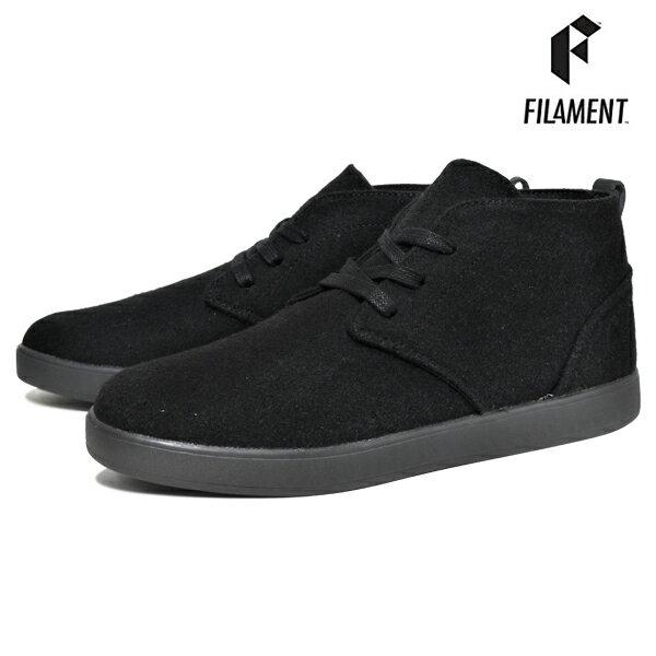 【FILAMENT】KUSALA カラー:black wool【フィラメント】【スケートボード】【シューズ】【ラスト一足 27cm】
