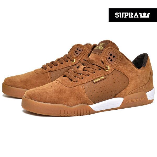 【SUPRA】ELLINGTON カラー:brown-gum【スープラ】【スケートボード】【シューズ】【ラスト一足 27cm】