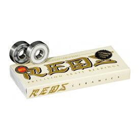 【BONES】CERAMICS REDS bearing ボーンズ ベアリング セラミック パーツ スケートボード スケボー SKATEBOARD