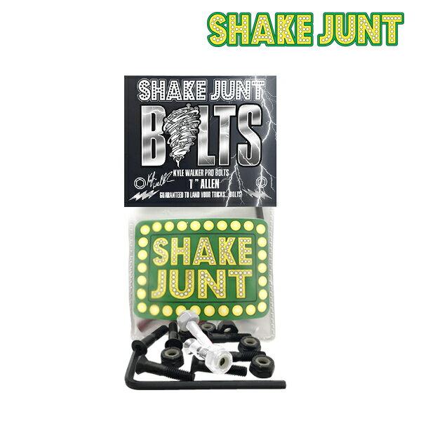【SHAKE JUNT】KYLE WALKER PRO BOLTS【シェイク ジャント】【スケートボード】【ボルト】