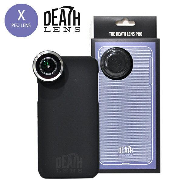 【DEATH DIGITAL】DEATH LENS PRO KIT Pro Lens + Standard Case for iPhone X 【デスレンズ】【スケートボード】【アイフォン】【レンズ/アクセサリー】
