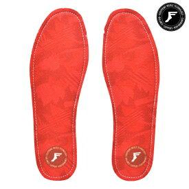 【FOOTPRINT INSOLE】KINGFOAM INSOLES RED CAMO FLAT 5mm フットプリント FP シューズ インソール 中敷き スケートボード スケボー SKATEBOARD