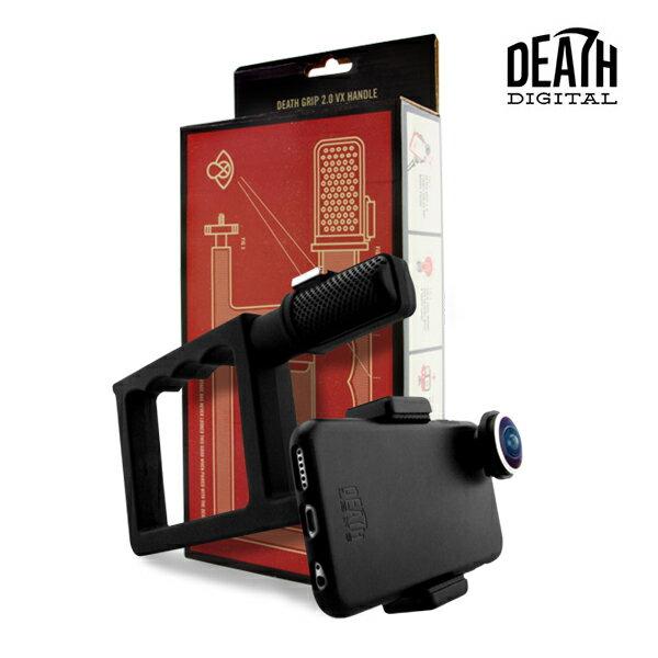 【DEATH DIGITAL】DEATH GRIP 2.0 VX HANDLE -GO PRO COMPATIBLE- 【デスデジタル】【スケートボード】【ハンドル】【スマートフォン】【アクセサリー】