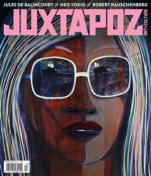 【JUXTAPOZ】2017.12月号-203【ジャクスタポーズ】【スケートボード】【書籍/雑誌/マガジン】