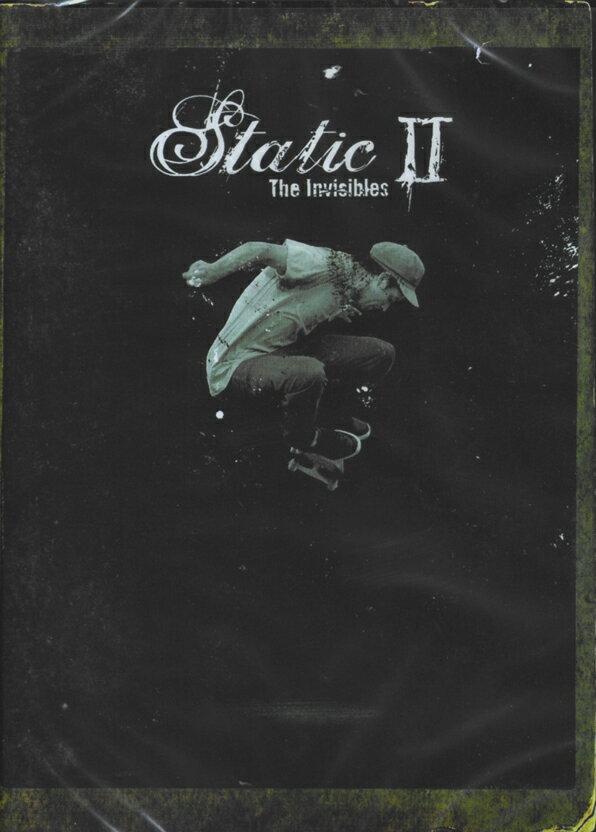【STATIC】STATIC 2 【スタティック】【スケートボード】【映像/DVD】