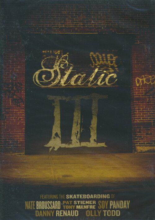 【STATIC】STATIC 3 【スタティック】【スケートボード】【映像/DVD】