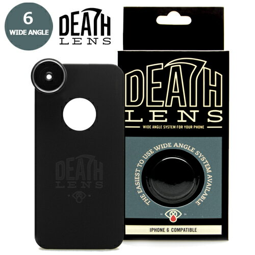 【DEATH DIGITAL】-WIDE ANGLE- iPhone 6/6S 用 【デスレンズ】【スケートボード】【アイフォン】【レンズ/アクセサリー】