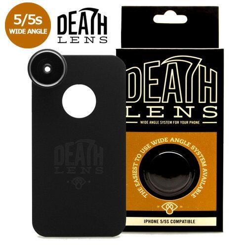 【DEATH DIGITAL】-WIDE ANGLE- iPhone 5/5s/SE 用 【デスレンズ】【スケートボード】【アイフォン】【レンズ/アクセサリー】