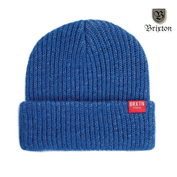 【BRIXTON】REDMOND beanie カラー:blue 【ブリクストン】【スケートボード】【ビーニー/ニット帽】