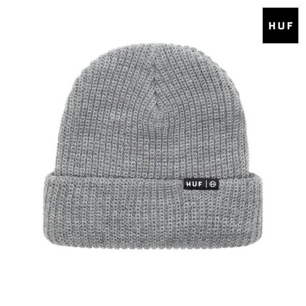 【HUF】USUAL BEANIE カラー:grey 【ハフ】【スケートボード】【ビーニー/ニット帽】