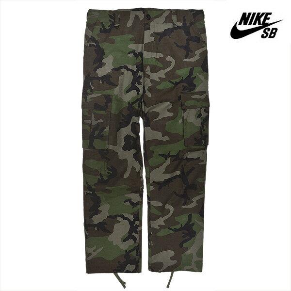 【NIKE SB】ERDL FLEX CARGO Pants カラー:medium olive 885864-222 【ナイキ エスビー】【スケートボード】【パンツ/カーゴパンツ】