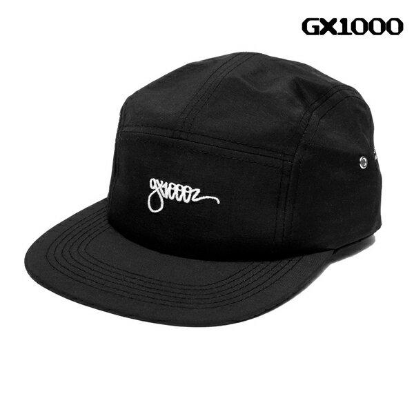 【GX1000】ONE LINER 5 PANEL カラー:black 【ジーエックスワンサウザンド】 【スケートボード】【帽子/キャップ】