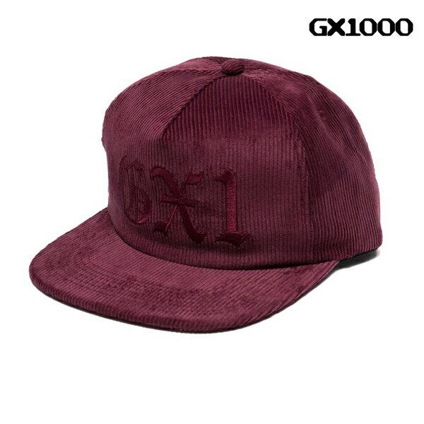 【GX1000】OE SNAP CAP カラー:maroon 【ジーエックスワンサウザンド】 【スケートボード】【帽子/キャップ】