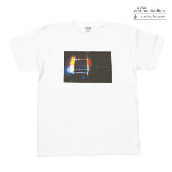 【COLOR COMMUNICATIONS】TONE PHOTO カラー:white 【カラーコミュニケイションズ】【スケートボード】【Tシャツ/半袖】