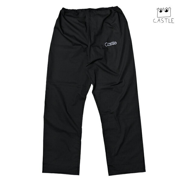 【CASTLE BOLTS】BARBED WIRE CASTLE pants カラー:black 【キャッスルボルト】【スケートボード】【パンツ】