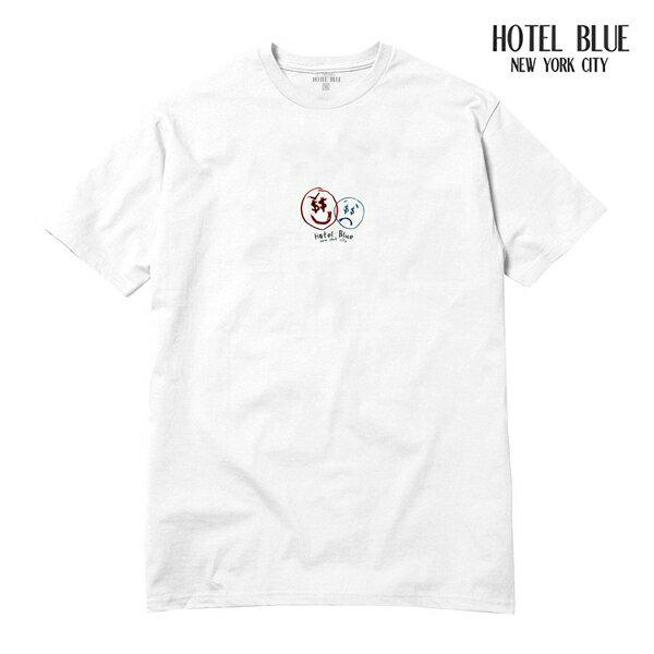 【HOTEL BLUE】MONEY EVIL tee カラー:white 【ホテルブルー】【スケートボード】【Tシャツ/半袖】