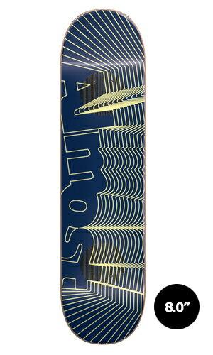 【Almost】Yuri Franchini IMPACT UNOWN 【オールモスト】【スケートボード】【デッキ】【8.0インチ】選べる無料のデッキテープ付き!