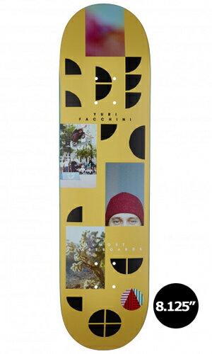 【Almost】Yuri Franchini FRAGMENTS 【オールモスト】【スケートボード】【デッキ】【8.125インチ】選べる無料のデッキテープ付き!
