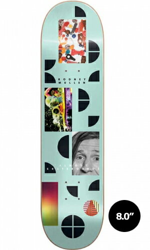 【Almost】Rodney Mullen FRAGMENTS 【オールモスト】【スケートボード】【デッキ】【8.0インチ】選べる無料のデッキテープ付き!
