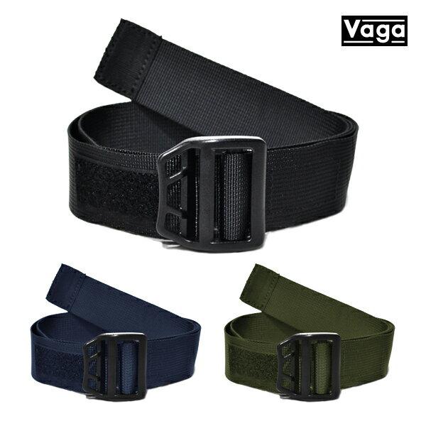 【VAGA】LIGHTWEIGHT belt カラー:black/blue/green 【バガ】【スケートボード】【ベルト】