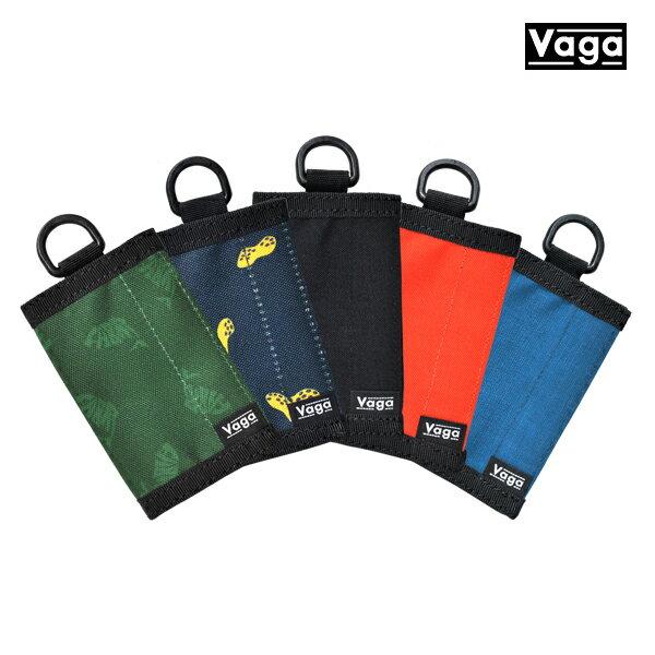 【VAGA】NANO wallet カラー:orange/black/khaki/moss/gray/blue 【バガ】【スケートボード】【財布/ウォレット】
