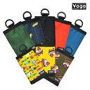 【VAGA】NANO wallet カラー:sakana/mane/black/orange/indigo 【バガ】【スケートボード】【財布/ウォレット】